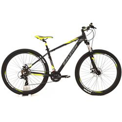 Bicicleta Raleigh Mojave 2.0 Rodado 29 Negro Amarillo Talle 17