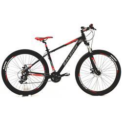 Bicicleta Raleigh Mojave 2.0 Rodado 29 Negro Rojo Talle 19