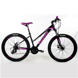 Bicicleta Raleigh Mojave 2.0 R27.5 Negro Gris Rosa Talle 16.5