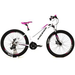 Bicicleta Raleigh Mojave 2.0 R27.5 Blanco Rosa Talle 16.5