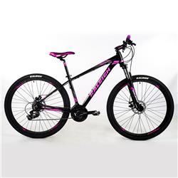 Bicicleta Raleigh Mojave 2.0 R29 Negro Gris ROSA Talle 15