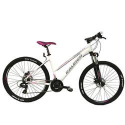 Bicicleta Raleigh Mojave 2.0 R29 DAMA BLANCO con ROSA Talle 16.5