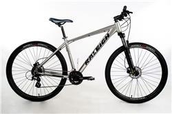 Bicicleta Raleigh Mojave 4.5 Rodado 29 Gris con Negro Talle 21