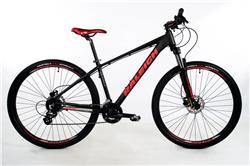 Bicicleta Raleigh Mojave 4.5 Rodado 29 Negro con Rojo Talle 21