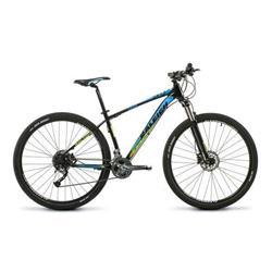 Bicicleta Raleigh Mojave Rod 29 5.0 Negro Celeste Talle 15