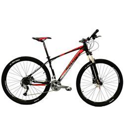 Bicicleta Raleigh Mojave Rod 29 5.0 Negro Naranja Talle 21