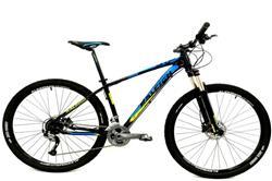 Bicicleta Raleigh Mojave Rod 29 5.0 Negro Celeste Talle 19