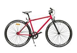 Bicicleta Fix 700 Aluminio Fucsia con Negro