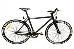 Bicicleta Fix 700 Aluminio Negro