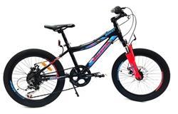 Bicicleta Raleigh Rowdy Disco Negro Azul Naranja