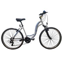 Bicicleta Raleigh Venture 3.0 Gris AZUL Talle 18.5