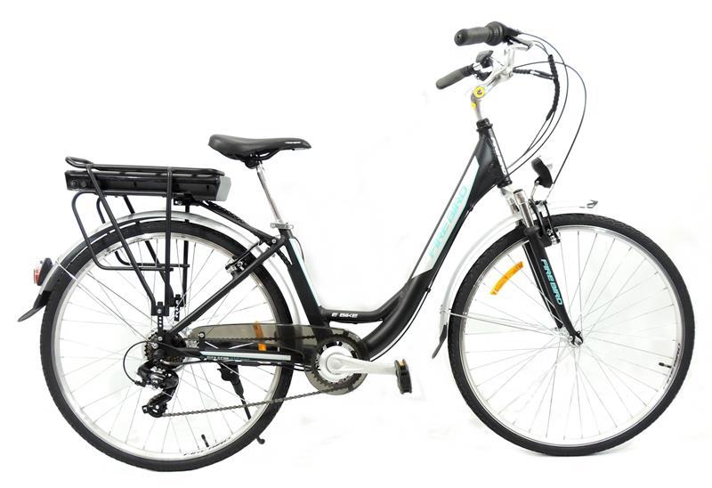 Bicicleta Electrica Firebird by Raleigh City 700c Cuadro Bajo