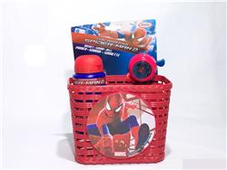 Kit Spiderman Bici Niño