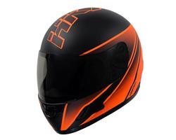 Casco Moto Integral Vertigo HK7 Naranja Mate TALLE L