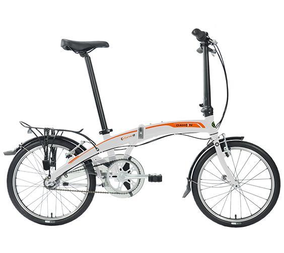 Bicicleta Dahon CURVE I3 Plata Naranja