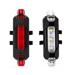 Combo 10 Pares de Luces Led USB 5 Led  4 func ROJA y BLANCA