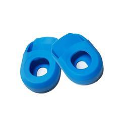 Par de Protectores de palancas Siliconas WKNS Azul