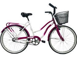 Bicicleta Stark Alba Blanco con Fucsia R-26