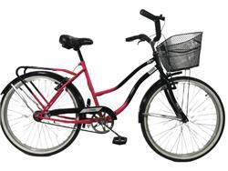 Bicicleta Stark Alba Negro con Fucsia R-26