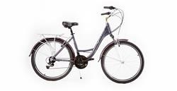 BiciCleta Stark Olivia Rod 26 21v Shimano Aluminio Negra Violeta