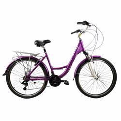 BiciCleta Stark Olivia Rod 26 21v Shimano Aluminio Violeta